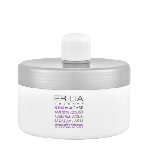 Erilia Kroma Care Maschera Luminosità Trattamento Profondo 500ml - mascarilla para cabellos teñidos