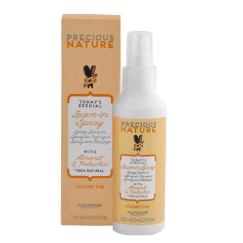 Alfaparf Precious Nature Leave-In Spray With Almond & Pistachio For Colored Hair 125ml - Spray Sin Enjuague
