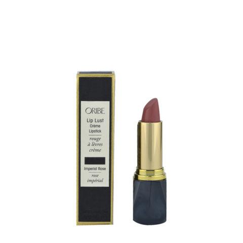 Oribe Lip Lust Cream Lipstick Imperial Rose 3gr lápiz labial, rosa