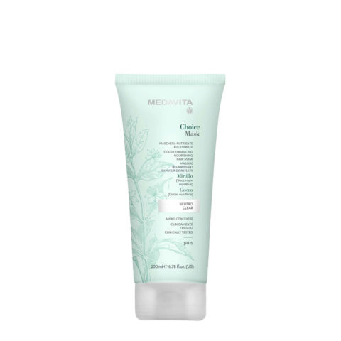 Medavita Lunghezze Choice Mask Clear 200ml