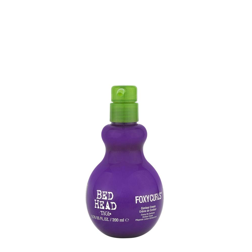 Tigi Bed Head Foxy Curls Contour Cream 200ml - Crema de Contorno