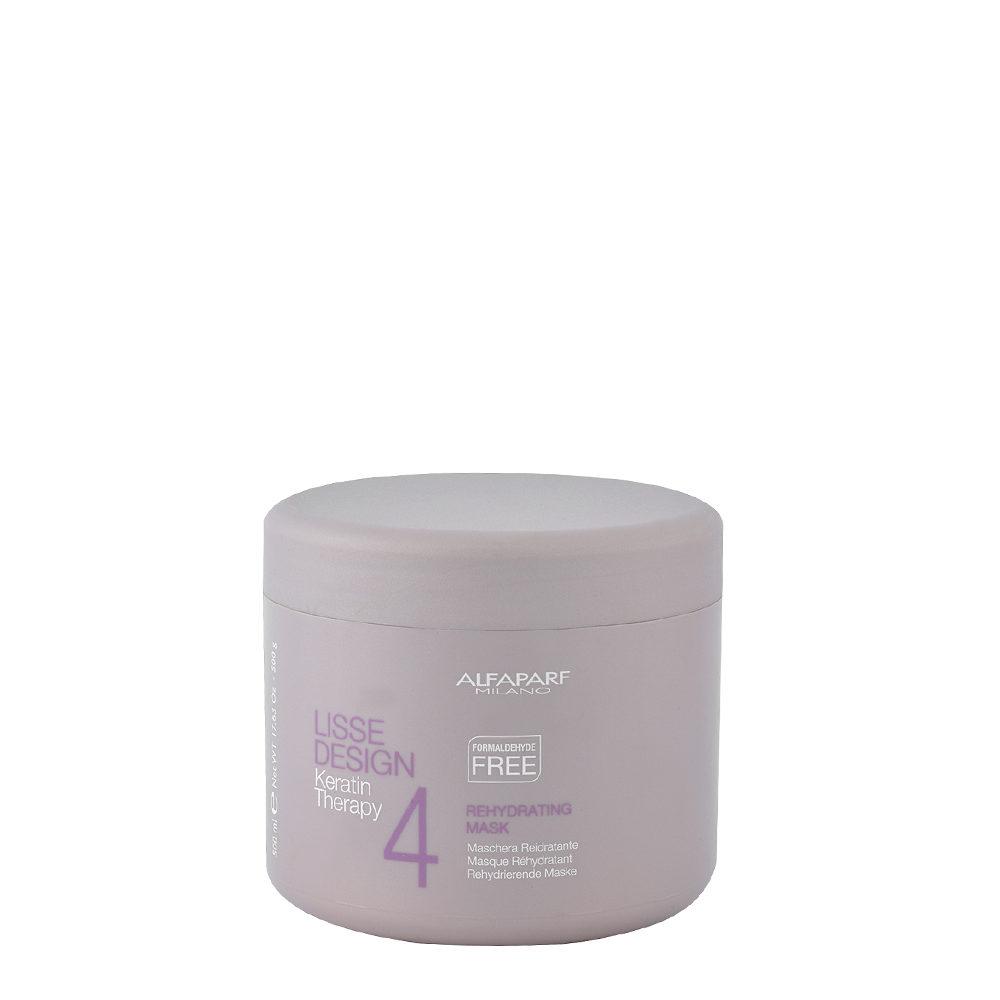 Alfaparf Lisse Design Keratin Therapy 4 Rehydrating Mask 500ml - Mascarilla Rehidratante