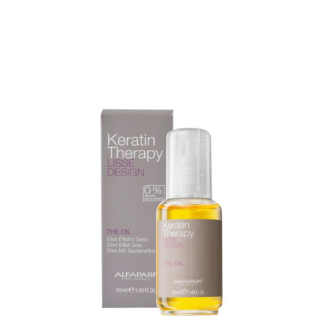 Alfaparf Lisse Design Keratin Therapy The Oil 50ml - Efecto Elixir De Seda