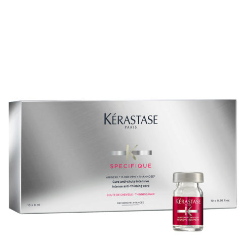 Kerastase Specifique Cure anti chute intensive 10x6ml - tratamiento intensivo anticaída