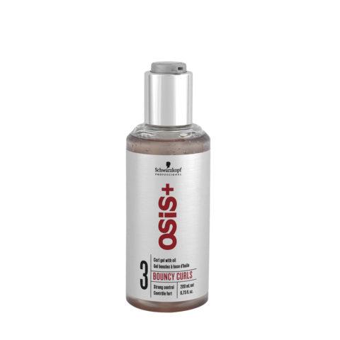 Schwarzkopf Osis Style Bouncy Curls 200ml - Geles para cabello rizado
