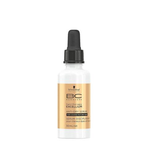 Schwarzkopf BC Excellium Anti-dry Serum 30ml - Suero disciplinario e hidratante