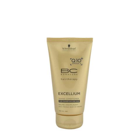 Schwarzkopf BC Excellium Taming Conditioner 150ml - Acondicionador para cabello maduro y grueso