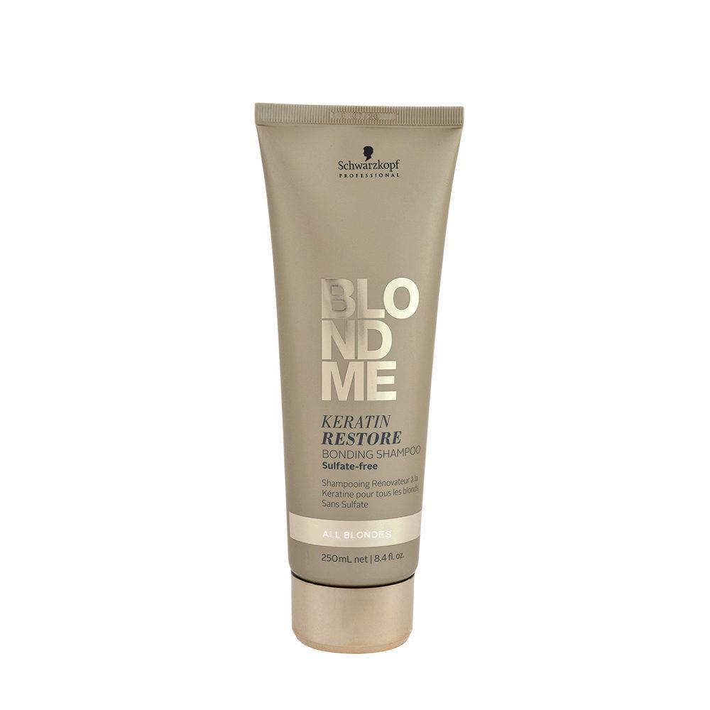 Schwarzkopf Blond Me Keratin Restore Bonding Shampoo Sulfate free 250ml - Champù reconstruccion