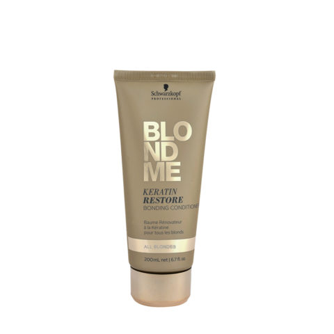Schwarzkopf Blond Me Keratin Restore Bonding Conditioner 200ml - balsamo de reconstruccion