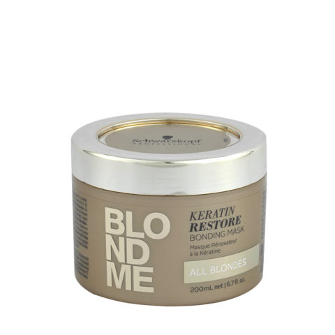 Schwarzkopf Blond Me Keratin Restore Bonding Mask 200ml - mascara de reconstruccion