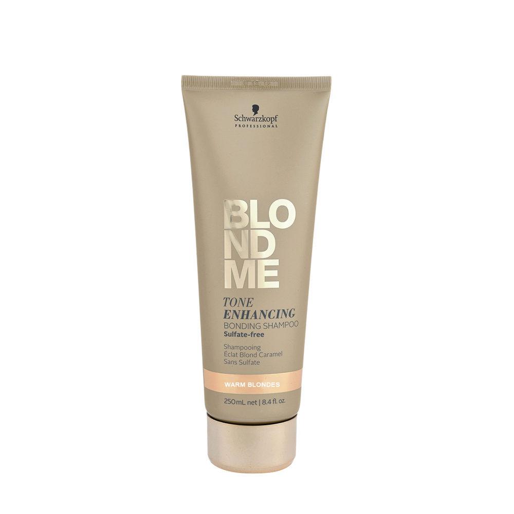 Schwarzkopf Blond Me Tone Enhancing Bonding Shampoo Warm Blondes 250ml