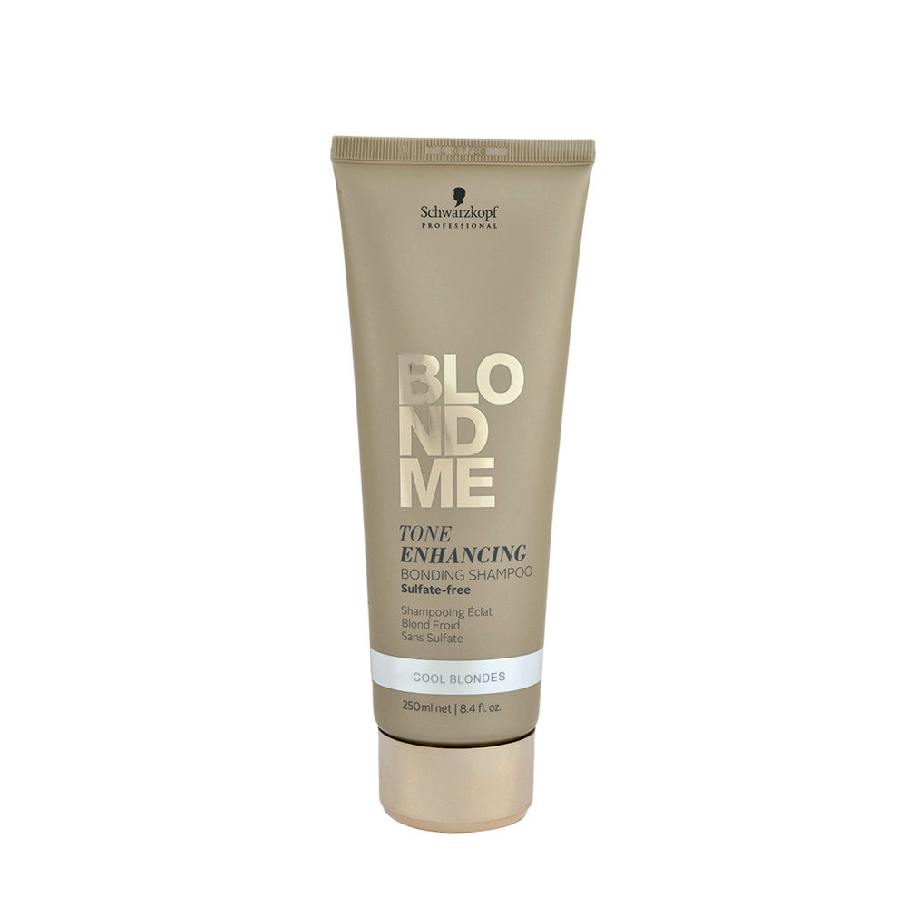 Schwarzkopf Blond Me Tone Enhancing Bonding Shampoo Sulfate free 250ml - champu neutrlizante tonos amarillos