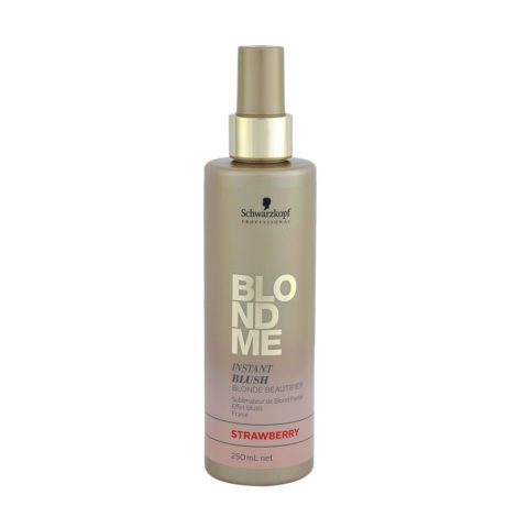 Schwarzkopf Blond Me Instant Blush Strawberry 250ml - Rubor Instantáneo de Fresa