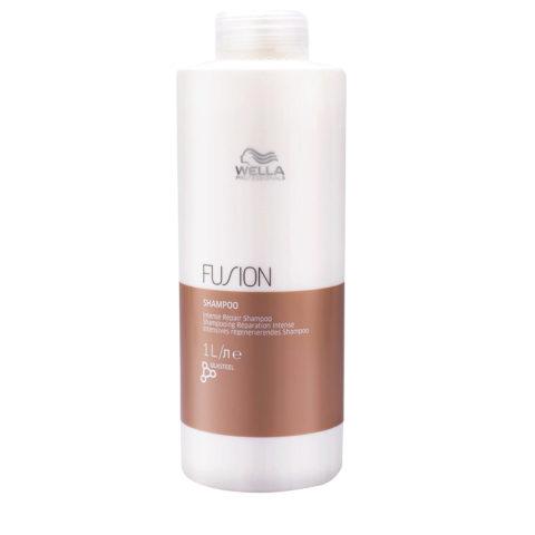 Wella Fusion Shampoo 1000ml - champú de reparación