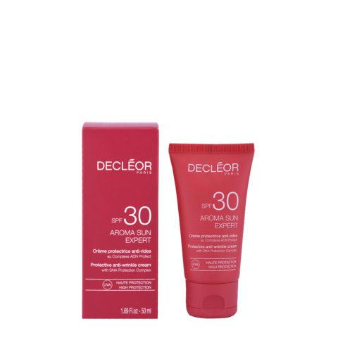 Decléor Aroma Sun Crème Protectrice Anti-rides SPF30, 50ml - crema protectora antiarrugas