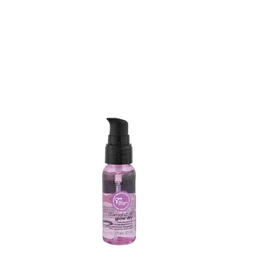 Redken Diamond oil Glow dry oil 30ml - Aceite ultra ligero