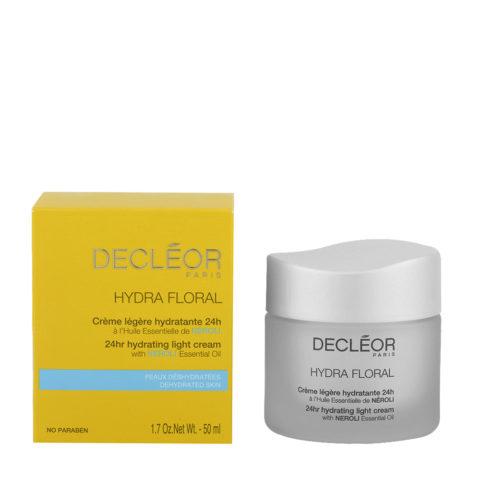 Decléor Hydra Floral Neroli Crème légère hydratante 24h, 50ml - crème légère hydratante