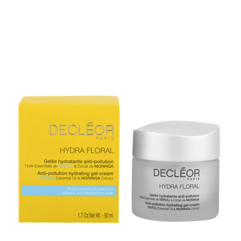 Decléor Hydra Floral Neroli Gelée Hydratante Anti-pollution 50ml - anti-contaminacion gel