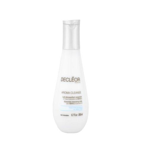 Decléor Aroma Cleanse Lait Démaquillant Essentiel 200ml - leche desmaquillante