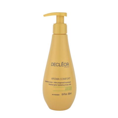 Decléor Aroma Confort Hâle Progressif Hydratant 250ml - leche corporal bronceadora progresiva