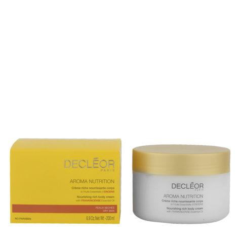 Decléor Aroma Nutrition Crème riche nourissante corps 200ml - crema rica nutritiva para el cuerpo