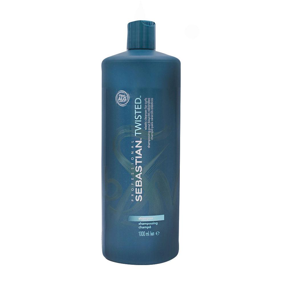 Sebastian Twisted Shampoo 1000ml - Champú cabello rizado