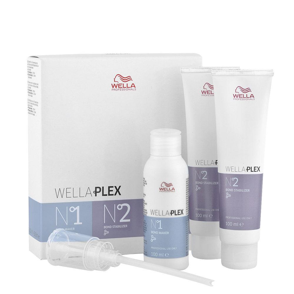 Wella Wellaplex Bond Maker N°1, 100ml + Bond Stabilizer N°2, 100ml