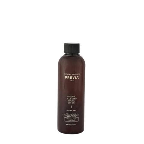 Previa Organic Aloe Vera Waving Lotion liquido ondulante perfumado 200ml - cabellos naturales