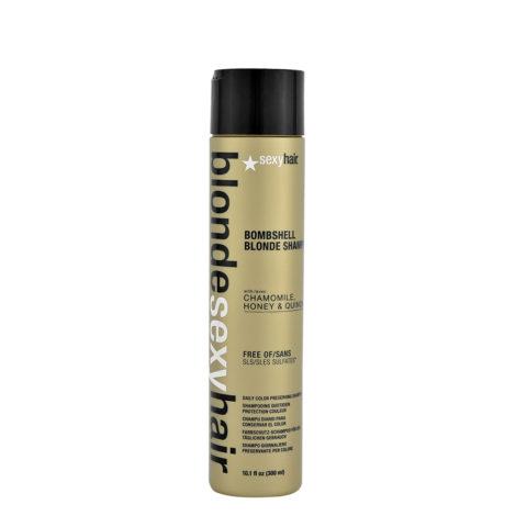 Blonde Sexy Hair Sulfate-Free Bombshell Champú Rubio 300ml