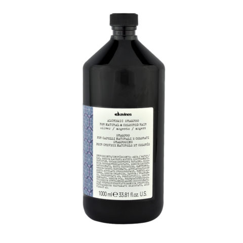 Davines Alchemic Conditioner Silver 1000ml - Acondicionador Coloreado Para Cabello Cano