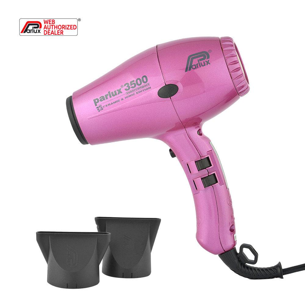 Parlux 3500 Supercompact rosa - secador