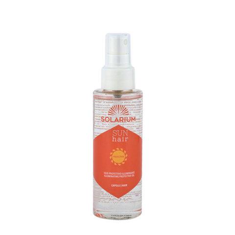 Alfaparf Solarium Sun Hair Protection Illuminating Protective Oil 125ml Fluido Protector Ultraligero
