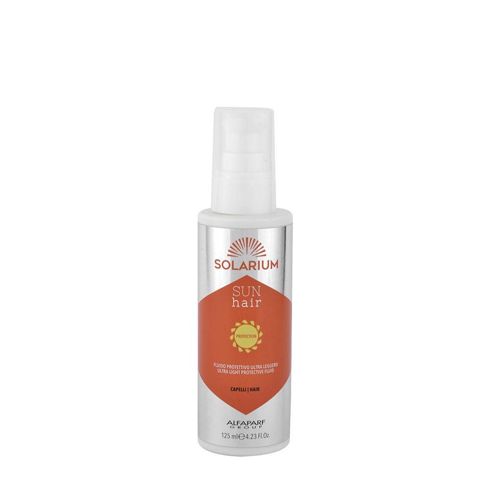 Alfaparf Solarium Sun Hair Protection Ultra Light Protective Fluid 125ml - Fluido Protector Ultra Ligero