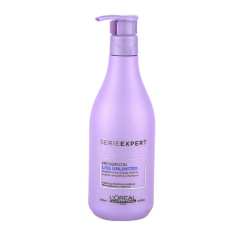 L'Oreal ProKeratin Liss Unlimited Shampoo 500ml