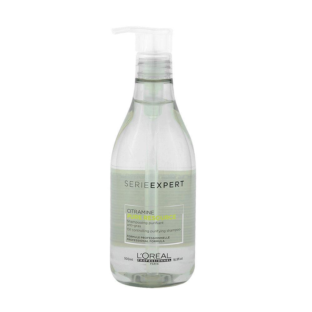 L'Oreal Pure Resource Shampoo 500ml - champù purificante