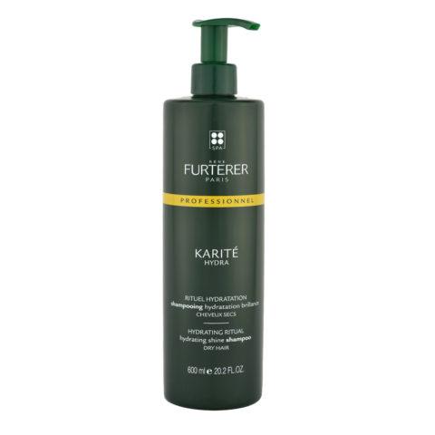 René Furterer Karité Hydrating ritual Shine Shampoo 600ml champú hidratante cabello seco