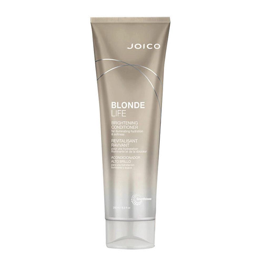Joico Blonde Life Brightening Conditioner 250ml - bálsamo para el cabello rubio
