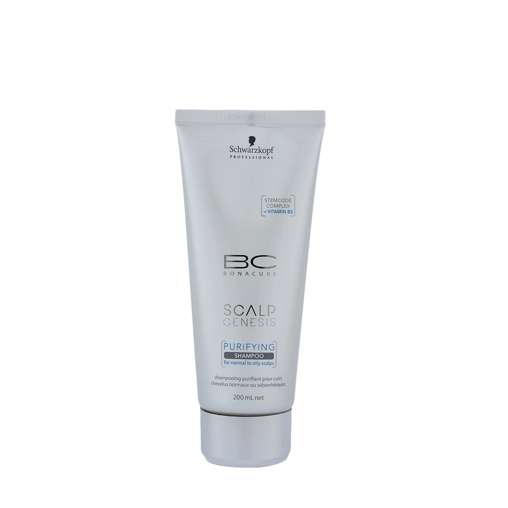 Schwarzkopf BC Bonacure Scalp Genesis Purifying Shampoo 200ml - desintoxicante para cabello graso