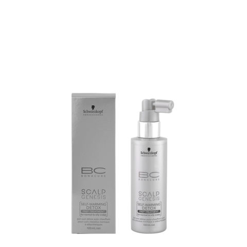 Schwarzkopf BC Bonacure Scalp Genesis Detox treatment 100ml - Suero desintoxicante para pieles normales o grasas