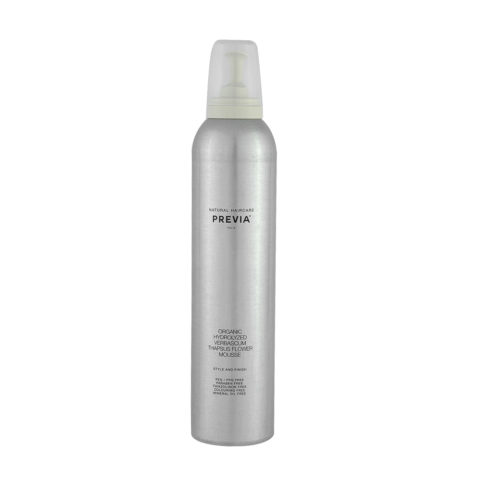Previa Finish Organic Hydrolized Verbascum Thapsus Flower Mousse 300ml - espuma sin parabenos