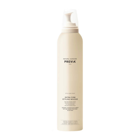 Previa Finish Organic Hydrolized Verbascum Thapsus Flower Mousse 300ml - espuma extra fuerte