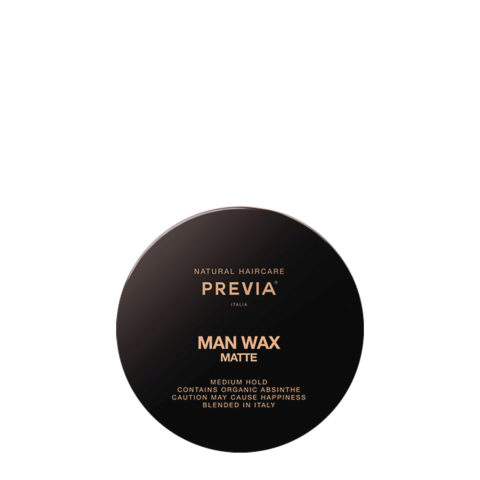 Previa Man Wax Matte 100ml - cera efecto mate
