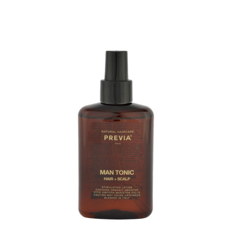 Previa Man Tonic hair scalp 150ml - locion estimulante