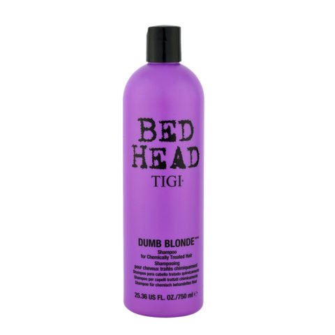 Tigi Bed Head Dumb Blonde Shampoo 750ml - Champù Cabello Tratado Rubio