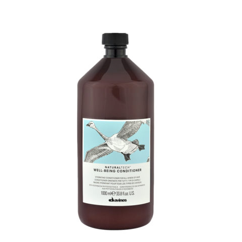 Davines Naturaltech Wellbeing Conditioner 1000ml - Acondicionador hidratante