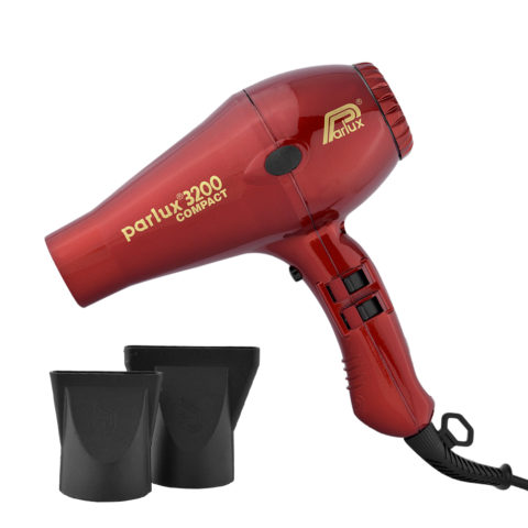 Parlux 3200 Compact - Secador rojo
