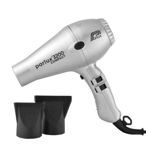 Parlux 3200 Compact - Secador plata