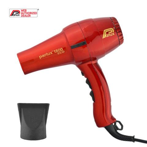 Parlux 1800 Eco edition - Secador rojo
