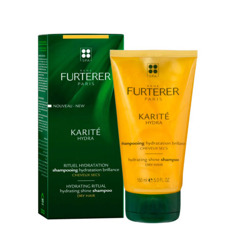 René Furterer Karité Hydrating ritual Shine Shampoo 150ml - Champú Hidratación y Brillo