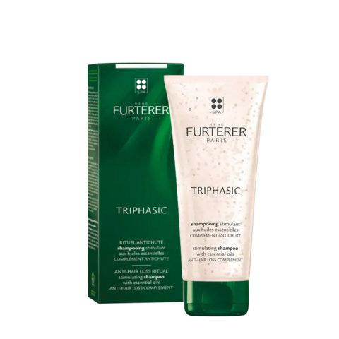 René Furterer Triphasic shampoo 200ml - Champú estimulante